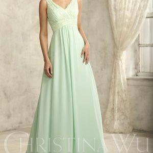 Navy Blue Christina Wu Celebration Style 22734